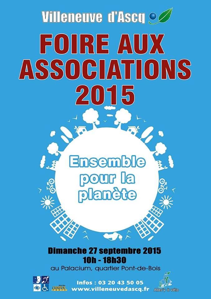 Foire aux associations 2015